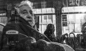 Woman in Tram